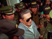 Boliviens Ex-Diktator Luis García Meza ist im Alter von 88 Jahren in einem Militärspital gestorben. (Bild: KEYSTONE/AP/SANDRA BOULANGER)