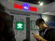 Der chinesische Konzern Baidu verschafft sich mit dem Verkauf eines Geschäftsbereichs mehr Spielraum für neue Akquisitionen. (Bild: KEYSTONE/AP/MARK SCHIEFELBEIN)