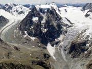 Eine Skitourengruppe geriet ob Arolla in Schlechtwetter. Vier starben in der kalten Nacht. (Bild: KEYSTONE/ALESSANDRO DELLA BELLA)