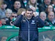 Graeme Murty ist als Trainer der Glasgow Rangers zurückgetreten (Bild: KEYSTONE/EPA/ROBERT PERRY)