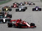 In der Formel 1 sollen ab 2019 Überhol-Vorgänge einfacher möglich sein (Bild: KEYSTONE/EPA/SRDJAN SUKI)