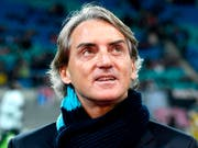 Als neuer italienischer Nationalcoach im Gespräch: Roberto Mancini (Bild: KEYSTONE/AP/JENS MEYER)
