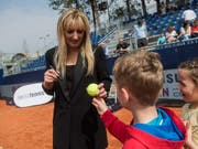 Timea Bacsinszky (links) trat in Rabat nicht an (Bild: KEYSTONE/TI-PRESS/GABRIELE PUTZU)
