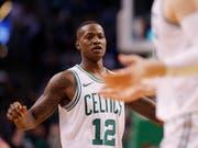 Mit 29 Punkten bester Skorer der Boston Celtics: Terry Rozier (Bild: KEYSTONE/EPA/CJ GUNTHER)