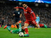 Liverpools Mohamed Salah ist auch von den englischen Journalisten zum Topspieler der Premier League erkoren worden (Bild: KEYSTONE/AP/RUI VIEIRA)