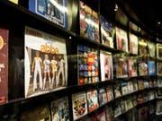 """Bis jetzt widmete sich die Schau """"ABBA The Museum"""" in der Swedish Music Hall of Fame in Stockholm nur den aktiven Jahren der Band, neu werden auch die Jahre danach integriert. (Bild: Keystone/EPA/JESSICA GOW)"""