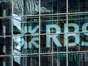 Die Royal Bank of Scotland (RBS) konnte sich in den USA auf einen Vergleich in der Höhe von 4,9 Milliarden Dollar verständigen. (Bild: KEYSTONE/EPA/ANDY RAIN)