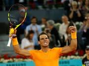 50 gewonnene Sätze auf Sand in Serie: Rafael Nadal (Bild: KEYSTONE/AP/FRANCISCO SECO)