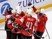 Die Schweizer Mannschaft hatte bisher in Kopenhagen viel zu jubeln (Bild: KEYSTONE/SALVATORE DI NOLFI)