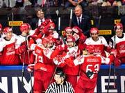 Dänemark nach dem 3:0 gegen Norwegen auf dem Weg in den dritten WM-Viertelfinal (Bild: KEYSTONE/EPA SCANPIX DENMARK/HENNING BAGGER)