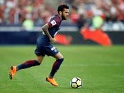Dani Alves kann für Brasilien an der WM nicht mittun (Bild: KEYSTONE/AP/FRANCOIS MORI)