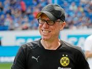Keine Zukunft in Dortmund: Trainer Peter Stöger (Bild: KEYSTONE/EPA/RONALD WITTEK)