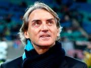 Roberto Mancini kann nach seiner Vertragsauflösung in St. Petersburg den Posten als italienischer Nationalcoach übernehmen (Bild: KEYSTONE/AP/JENS MEYER)
