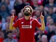 Mohamed Salah trifft erneut und Liverpool qualifiziert sich wieder für die Champions League (Bild: KEYSTONE/AP PA/DAVE THOMPSON)