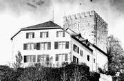 Das Schloss Weinfelden, wie es vor dem grossen Rückbau 1972 aussah. (Bild: PD/Bürgerarchiv Weinfelden)