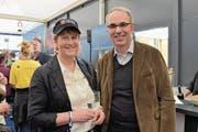 Der Luzerner Stadtpräsident Beat Züsli fand in der Entlebucher Gemeindepräsidentin Vreni Schmidli eine kompetente Gesprächspartnerin. (Bild: Claudia Surek)