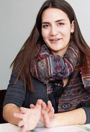 Die junge Sprachforscherin Valeria Restuccio konnte empirisch nachweisen, dass sexistischer Sprachgebrauch den Alltagssexismus normalisiert. (Bild: Christof Lampart)