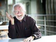 Jacques Dubochet, der Chemie-Nobelpreisträger von 2017, setzt sich dafür ein, neue Technologien vor deren Einsatz gut zu überprüfen. (Bild: KEYSTONE/LAURENT GILLIERON)
