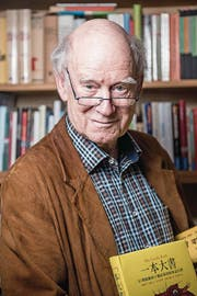 «Familientreffen linker Autoren? Diese Definition ist mir zu eng.» Franz Hohler, Schriftsteller und Kabarettist. Er hielt die Eröffnungsrede zum Jubiläum. (Bild: Mareycke Frehner)