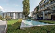 Aus Platzgründen diversen Topclubs abgesagt: das Grand Hotel in Bad Ragaz. (Bild: Hanspeter Schiess)