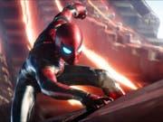 """Das Bild zeigt Tom Holland als Spider-Man in """"Avengers: Infinity War"""". Der Film hat am Wochenende vom 10. bis 13. Mai 2018 erneut am meisten Filmfans in die Schweizer Kinos gelockt. (Bild: Keystone/AP Disney-Marvel/)"""
