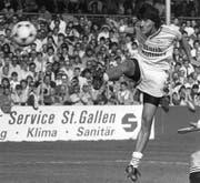 Der beste Spieler, der jemals für St.Gallen gespielt hat: Ivan Zamorano. (Bild: STR (KEYSTONE))