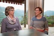 Die beiden Co-Präsidentinnen des Sozialfonds: Edith Stutz-Berchtold (links) und Brigitte Durrer-von Flüe. (Bild: Marion Wannemacher (OZ) (Obwaldner Zeitung))