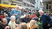 Am Samstag findet im GBS-Schulhaus neben der Kirche St.Mangen das Sozial- und Umweltforum Ostschweiz (Sufo) statt. Das Gastro- und Kulturangebot in der Mittagspause wird dabei wie üblich zum grossen Treffpunkt der linksalternativen Szene. (Bild: Peer Füglistaller - 30.Mai 2015)