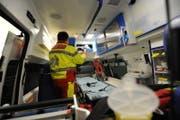 Eine Ambulanz