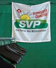 Die SVP, die Partei des Mittelstandes, aber nicht der Katholiken? (Bild: Peter Schneider/Keystone)