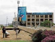 Das Gebäude der neuen US-Botschaft in Israel. (Bild: Abir Sultan/Keystone (Jerusalem, 13. Mai 2018))