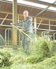 Bauer Fritz Sahli aus Uettligen BE versteht seinen Hof als KMU. Er ist überzeugt: Konsumenten sind bereit, für Qualität mehr Geld auszugeben. (Bild: Chris Iseli)