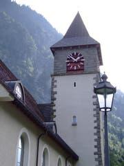 Die Kirche von Gurtnellen. (Bild: Archiv UZ)