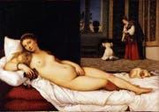 Tizian malte seine «Venus von Urbino» als selbstbewusste junge Frau, die sich ihrer Attraktivität bewusst ist. (Bild: Galleria degli Uffizi, Florenz)