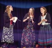 Das Trio Sutari schuf aus Küchengerät eine mitreissende Rhythmuskombination. (Bild: Daniel Ammann/PD)