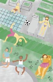 Eltern wollen nur das Beste für ihre Kinder, andere wollen einfach nur ihre Ruhe vor den Kindern. Illustration: Selina Buess