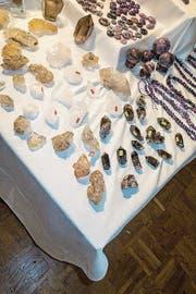 Mineralien und Kristallen sagt man heilende Kräfte nach. (Bild: Benjamin Manser (Zürich, 3. Mai 2018))