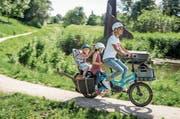 Das GSD von Tern (ca. 4500.–) ist ein neuer Typ von E-Bike: Es ist bepackbar wie ein Lastesel, dank kleineren Rädern aber doch kompakt wie ein normales Velo. (Bilder: PD)