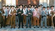 Ihr einziges «Instrument» sind ihre Stimmen: Der Männerchor aus der portugiesischen Gemeinde Serpa. (Bild: PD)