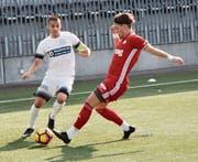 Die jungen Wiler um Captain Luca Bartucca haben in dieser Saison noch grosse Pläne. (Bild: Simon Dudle)