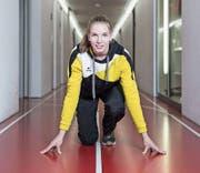 Géraldine Ruckstuhl während der Spitzensport-RS in Magglingen. (Bild: Manuela Jans-Koch (1. Februar 2018))