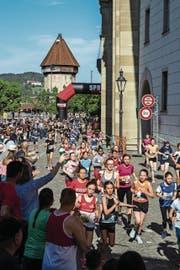Der 41. Stadtlauf gehört bereits wieder der Vergangenheit an. (Bild: Philipp Schmidli)