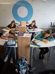 Die Maitlisek ist für die Mehrheit der angehenden Sekundarschülerinnen erste Wahl. (Bild: Benjamin Manser)