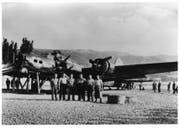 Bergung der B-17. (Bild: warbird.ch)