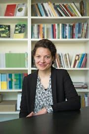 «Es ist unsere Aufgabe, aktuelle Tendenzen aufzustöbern und zu fördern.» Reina Gehrig, Geschäftsführerin Solothurner Literaturtage (Bild: GIAN EHRENZELLER (KEYSTONE))