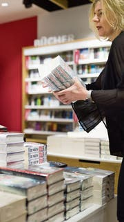 Bücherflut: An der Frankfurter Buchmesse werden jeweils 80 000 neue Titel vorgestellt. (Bild: Gaëtan Bally/KEY)