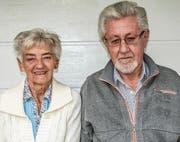 Rita und Jaroslav Jenikovsky erhielten nach dem Prager Frühling politisches Asyl in der Schweiz. Heute leben sie in Aadorf. (Bild: Kurt Lichtensteiger)