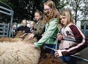 Die Kinder sollen wieder näher an das Tier herangeführt werden. (Bild: Stefan Kaiser (Oberägeri, 13. Mai 2018))