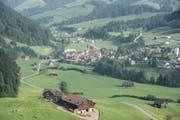 Wird Neckertal zur Einheitsgemeinde? Die Schulstandorte wie St. Peterzell würden gestärkt werden. (Bild: Luca Linder)