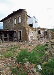 Noch immer sind die Spuren des Erdbebens vom August 2016 sichtbar. Damals kamen im 138 Kilometer östlich von Rom gelegenen Amatrice und den Nachbargemeinden rund 300 Menschen ums Leben.Bilder: PD